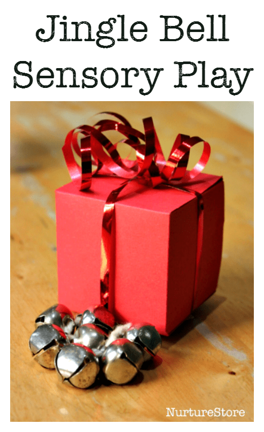 Jingle bell sensory play ideas and listening games