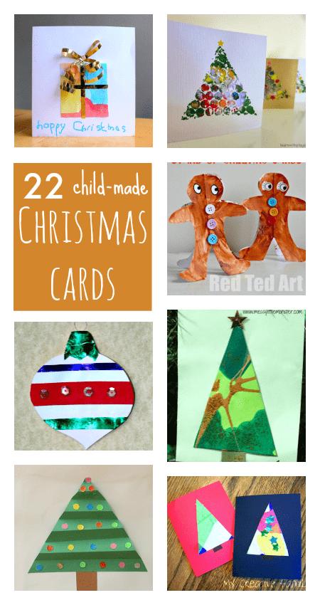 kids christmas card crafts