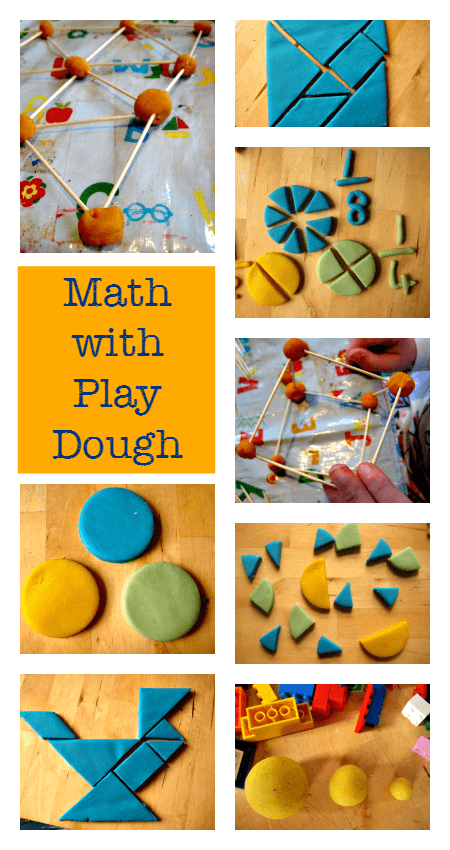 math activities with play dough