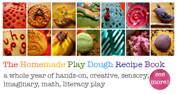 the homemade play dough recipe book call
