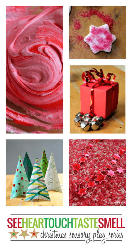 Christmas sensory play activities - ideas for every sense