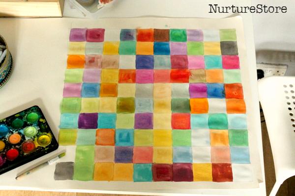 colour 100 square