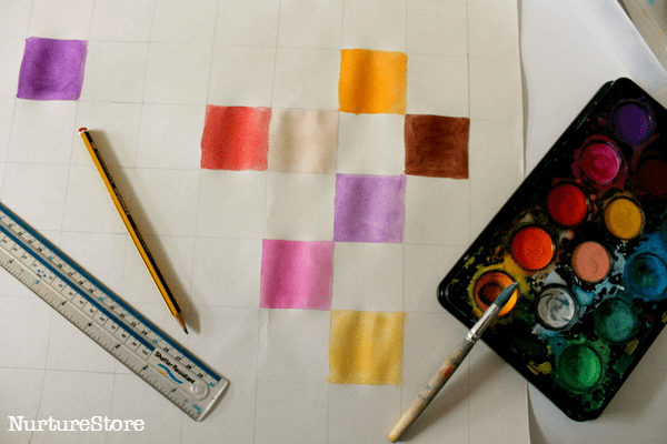 colour hundred square