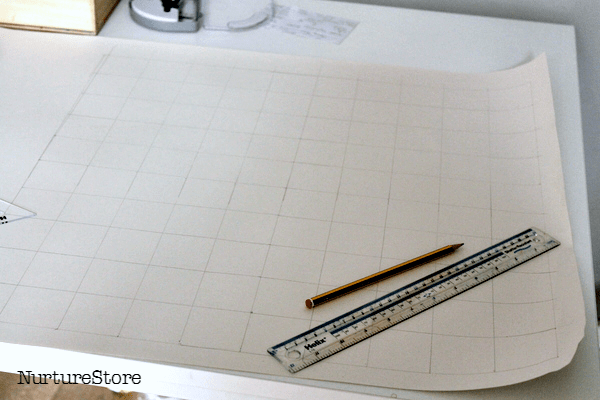 how to make a 100 square