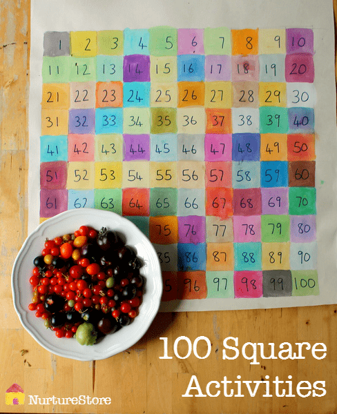 Great ideas for hundred square activities : math activities, STEAM activities