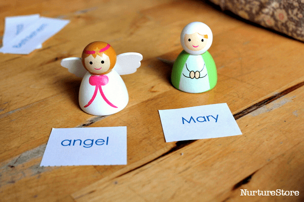 printable nativity activity for school