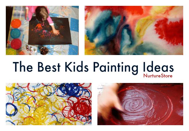 best kids painting ideas