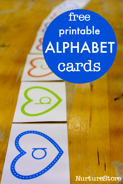 free printable alphabet cards