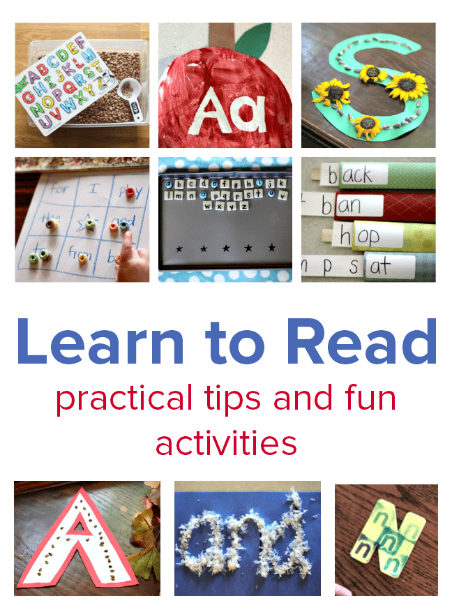 learn to read activities first grade