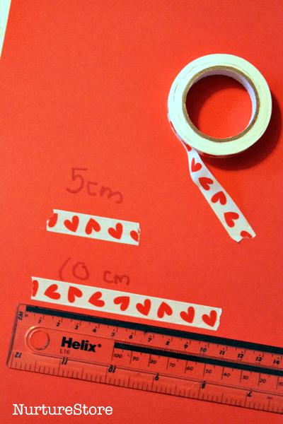 measuring activity preschool Valentine