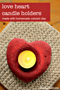 valentine-craft-homemade-clay-candle-holders200