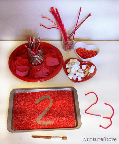 valentine theme math activities first grade