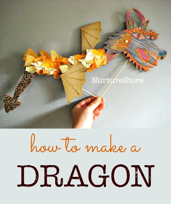 How To Make A Cool Chinese Dragon Craft Puppet