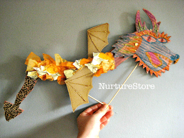 How to make a chinese dragon craft