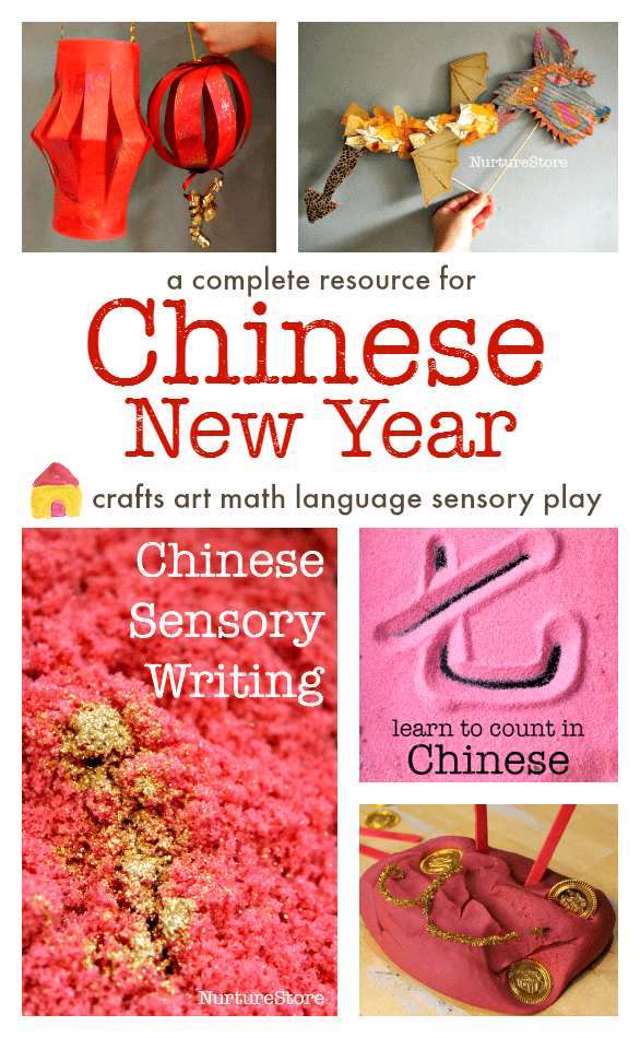 A complete lesson plan for Chinese New Year activities and crafts