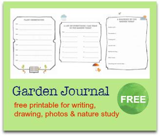 free garden journal
