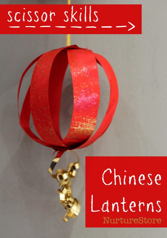 Paper Chinese Lantern Craft - plus great Chinese New Year activities for kids