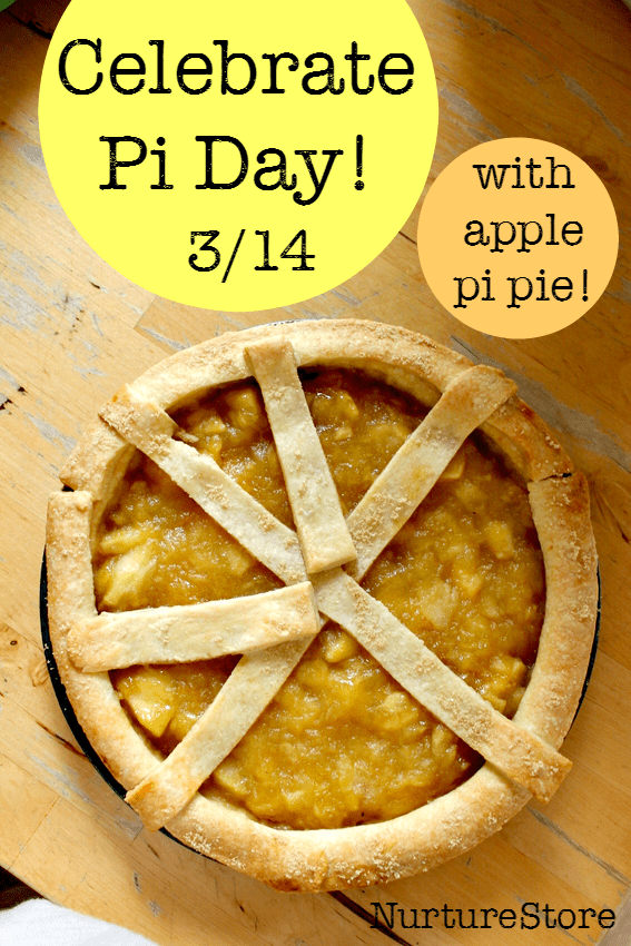 Fun ways to celebrate pi day including an apple pi pie recipe :: pi for kids