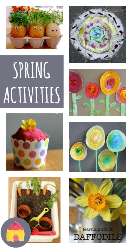 A Complete Resource Of Spring Activities And Crafts Nurturestore