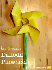 daffodil-craft-flower-pinwheel