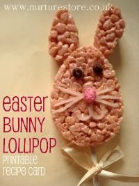 easter bunny snack