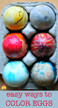 easy ways to dye eggs200