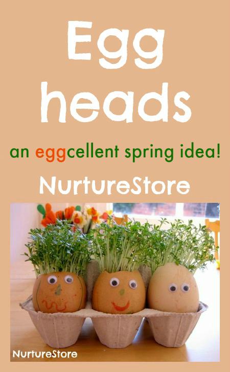 Eggheads With Cress Hair Nurturestore