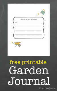 free printable garden journal