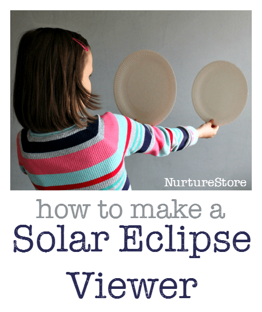 Craft For Kids With Eclipse Glasses And Paper Plates