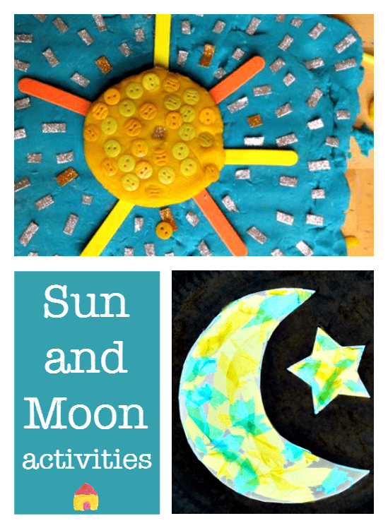 Learn about the sun and moon activities :: solar system :: sun and moon crafts