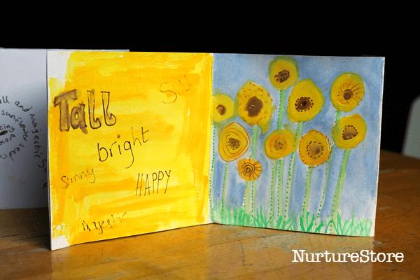painting a garden journal