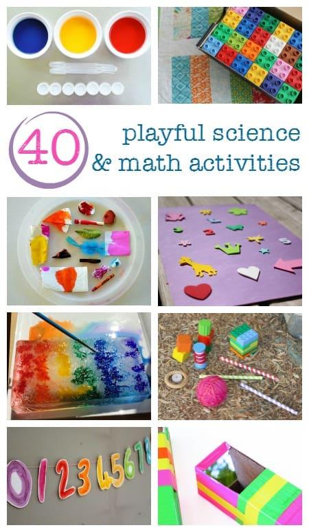 preschool science and math activities