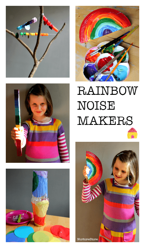 How to make homemade noise makers and musical instruments :: Wild rumpus crafts and great for New Years Eve