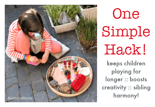 how to get kids to play alone for longer