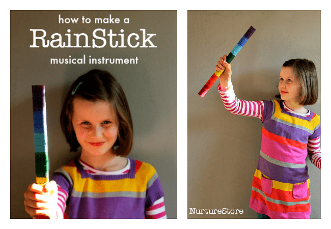 how to make a rain stick