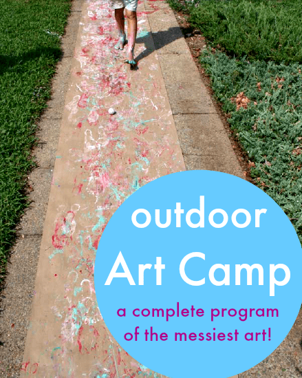 outdoor art camp