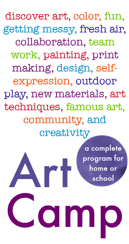 summer art camp activities