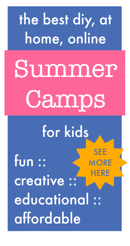 At home summer camp ideas for families, easy summer activities for kids, diy summer camp ideas, affordable summer camp programs