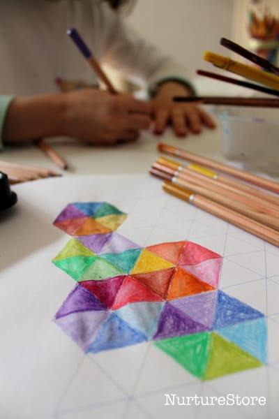 printable graph paper shapes