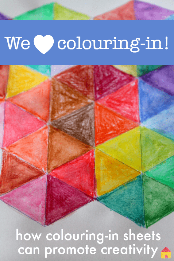 colouring in sheets for kids that encourage creativity