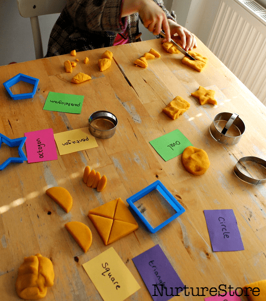 shape discovery table