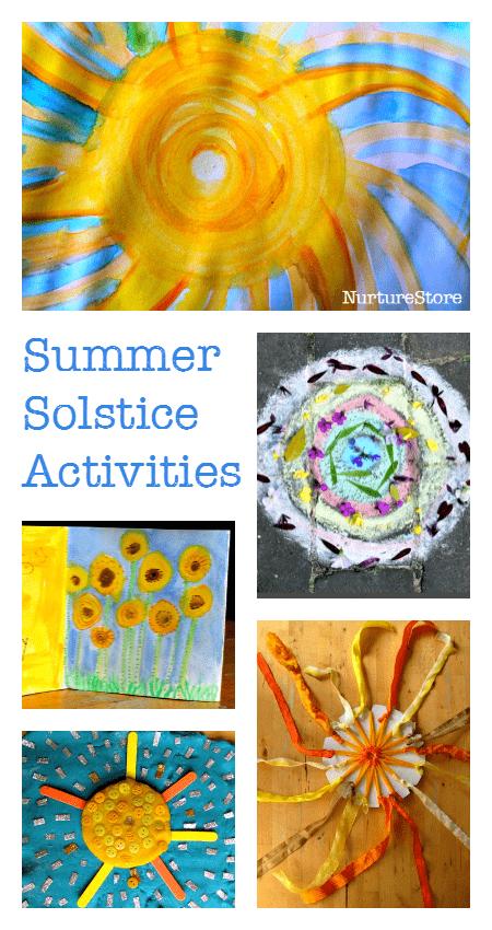 summer solstice activities for children nurturestore. Black Bedroom Furniture Sets. Home Design Ideas