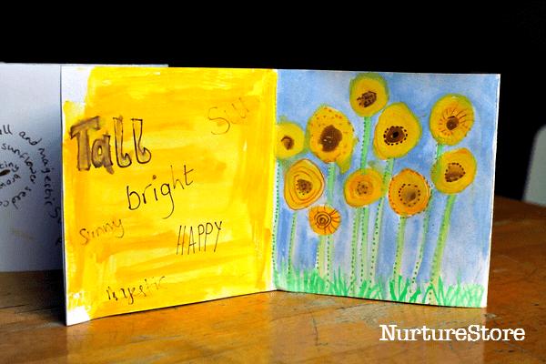 sunflower solstice craft