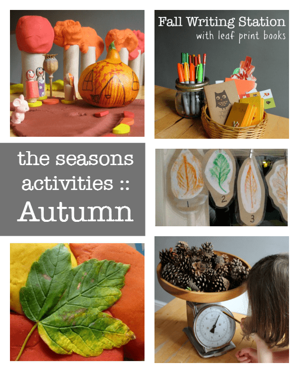 A complete resource of The Seasons activities :: autumn activities