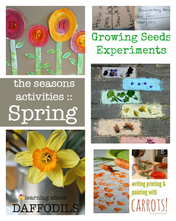 A complete resource of the seasons activities :: spring activities