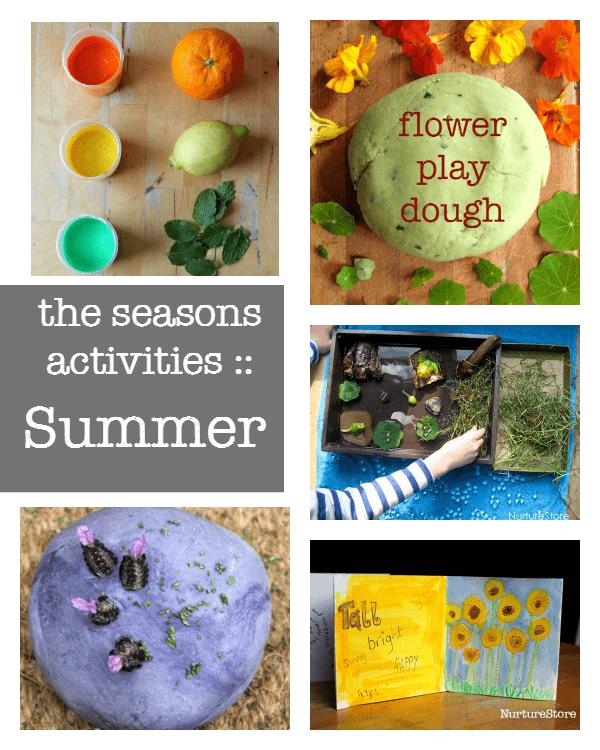 A complete resource of the seasons activities :: summer activities
