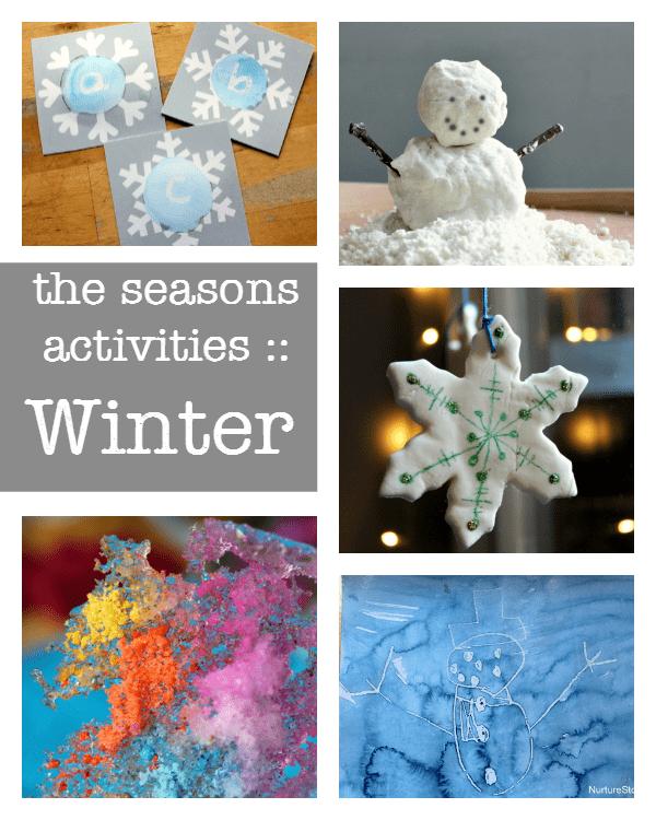 A complete resource of The Seasons activities :: winter activities