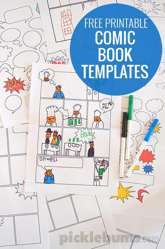 comic-book-templates