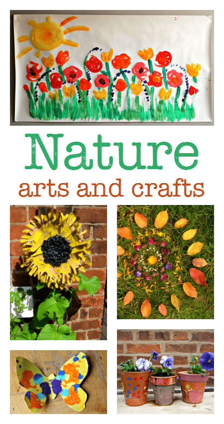 Nature Inspired Crafts For Preschoolers