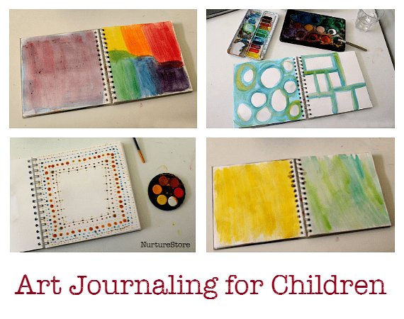 art journaling for children